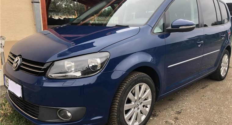 Vând VW Touran 2.0, 170 CP, an 2012 impecabil ,euro 5